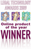Online Product of the year, Legal Technology Awards