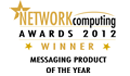 Mimecast awarded 'Messaging Product of the Year 2012' at the Network Computing Awards